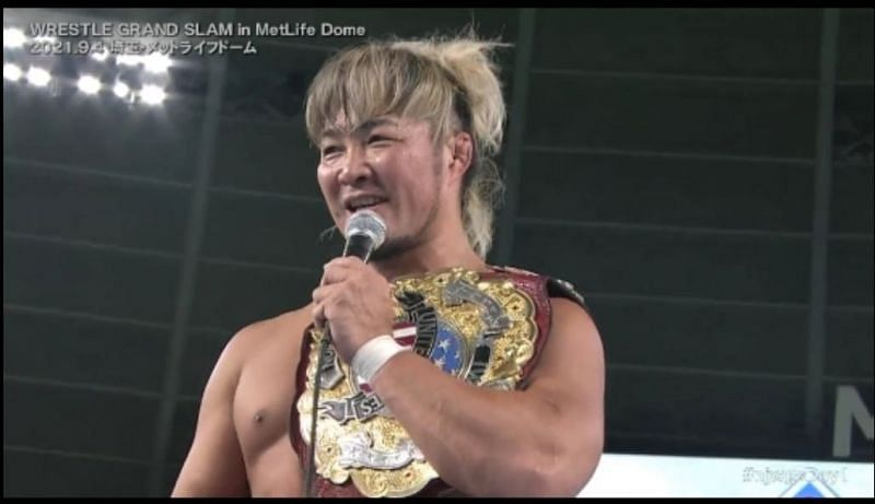 Hiroshi Tanahashi recently defended the IWGP US Heavyweight Championship at the MetLife Dome
