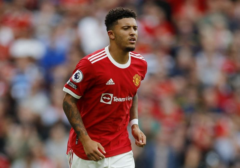 There are a lot of expectations from Jadon Sancho at Manchester United (Image via Manchester United)