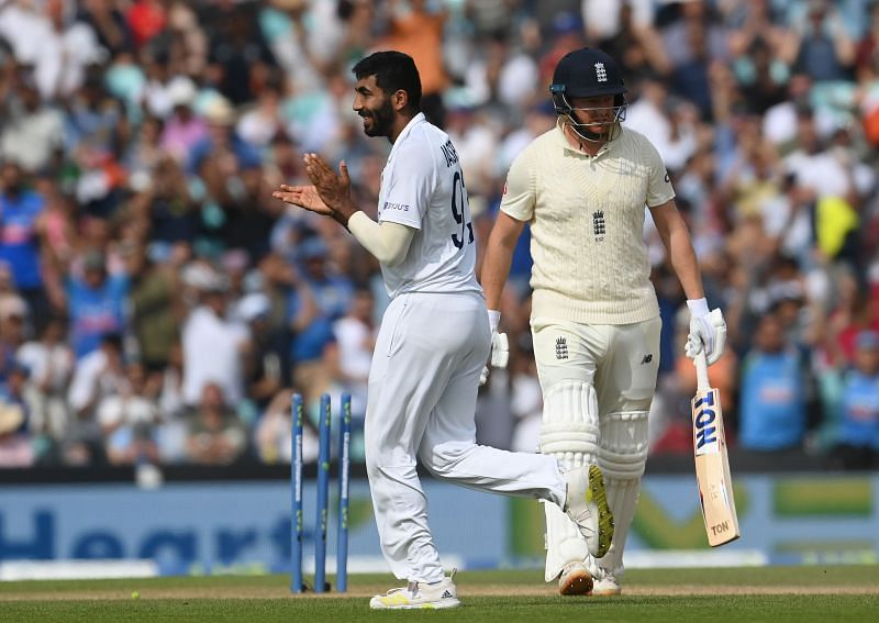 Jasprit Bumrah castled Jonny Bairstow with a yorker