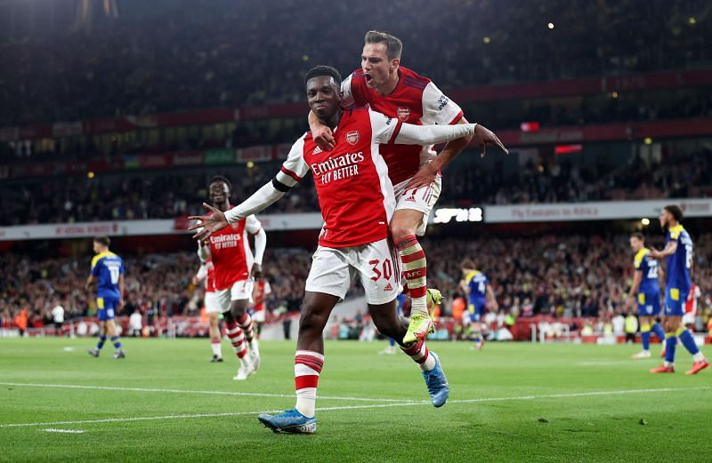 Eddie Nketiah has not been able to break into Arsenal's starting XI.