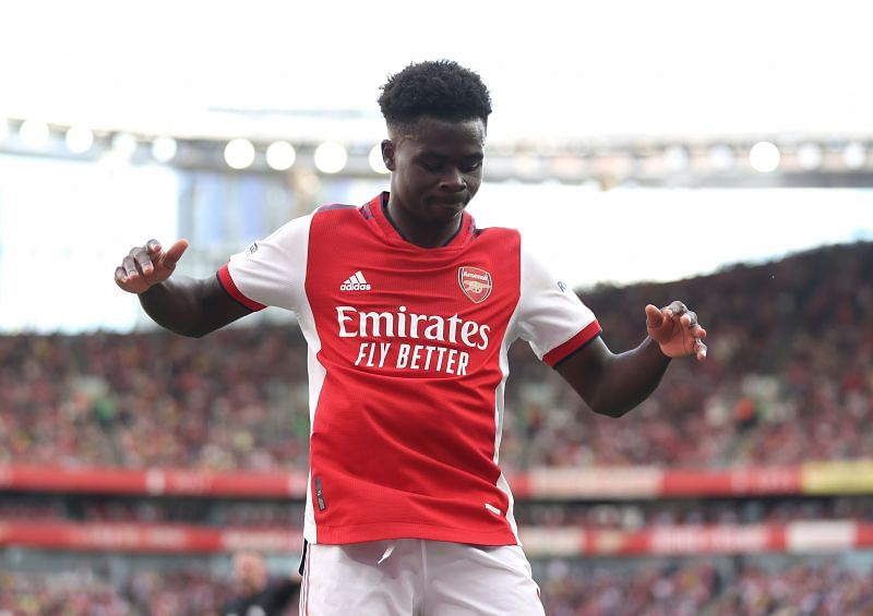Arsenal will not listen to any offers for Bukayo Saka.