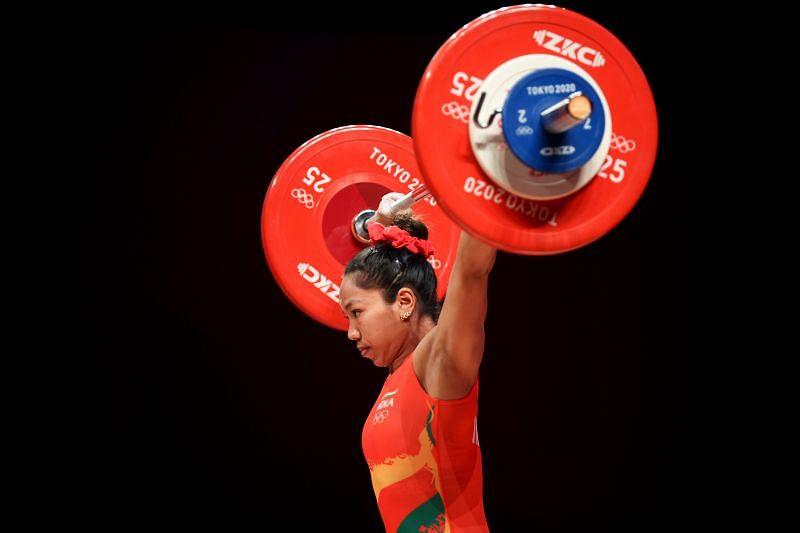 Mirabai Chanu won silver medal at the Olympics in 49 kg.