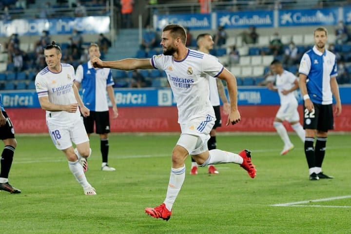 Nacho was on target against Alaves on the opening day
