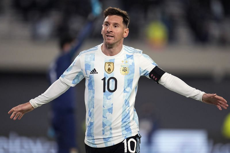 Lionel Messi bagged a hat-trick with Argentina against Bolivia