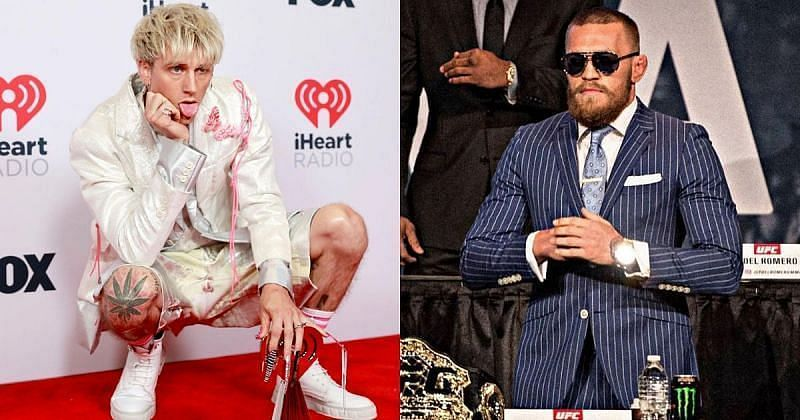 Machine Gun Kelly and Conor McGregor [Images Courtesy: @machinegunkelly and @thenotoriousmma on Instagram]