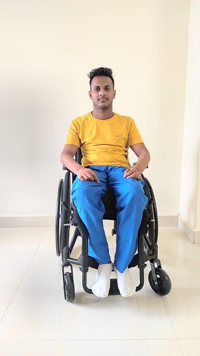 Sandeep Pal hopes to walk again someday