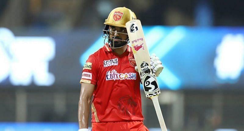 Punjab Kings' KL Rahul. Pic: IPLT20.COM