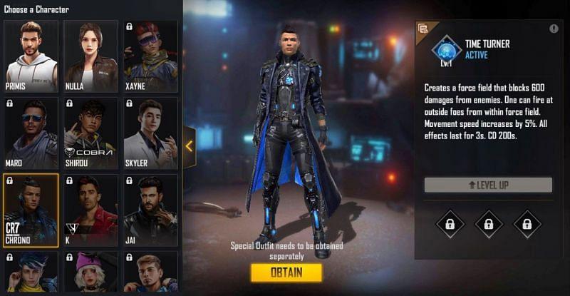 3 kombinasi karakter terbaik untuk gameplay agresif di Free Fire