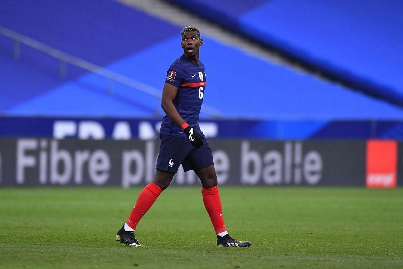 Paul Pogba helped France control proceedings