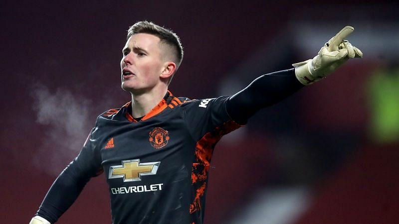 Dean Henderson is the potential successor to David De Gea at Manchester United (Image via Manchester United)
