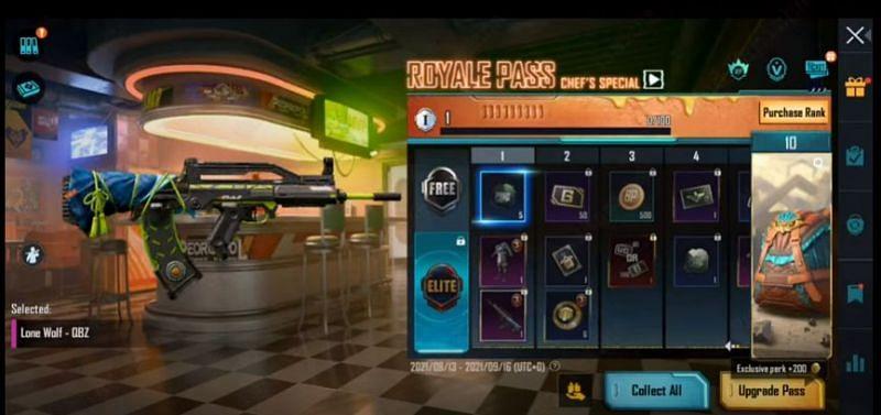 RP rank 1 reward in PUBG Mobile M3 RP (Image via Mad Tamizha YT / YouTube)