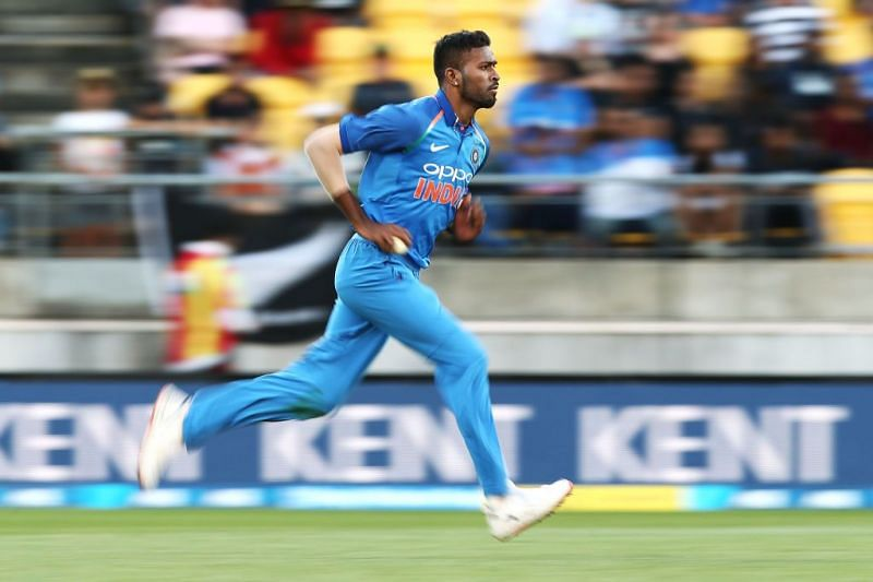 Indian cricketer Hardik Pandya recalls his journey from being a specialist top-order batsman to a seam-bowling all-rounder