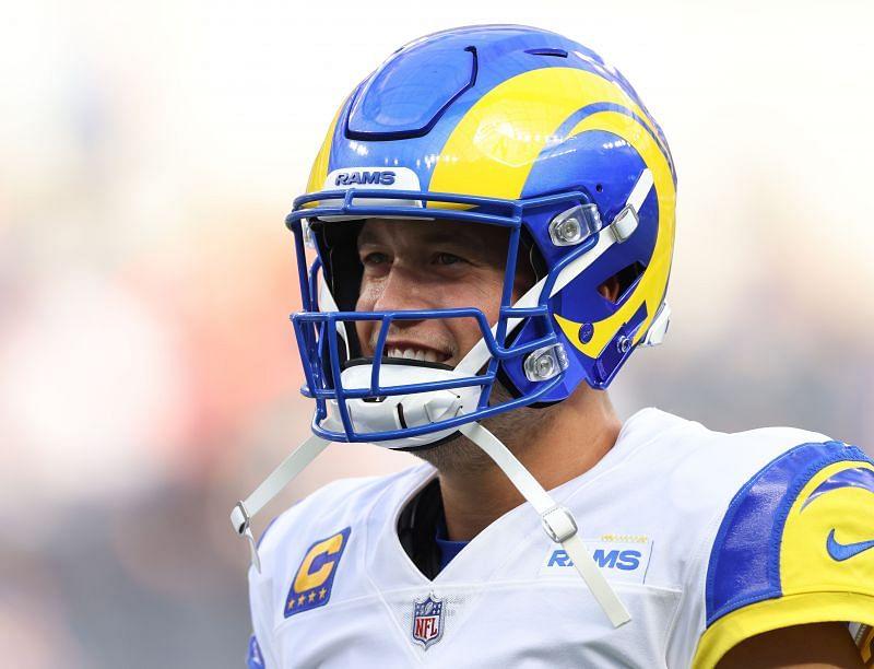 Matthew Stafford of the Los Angeles Rams