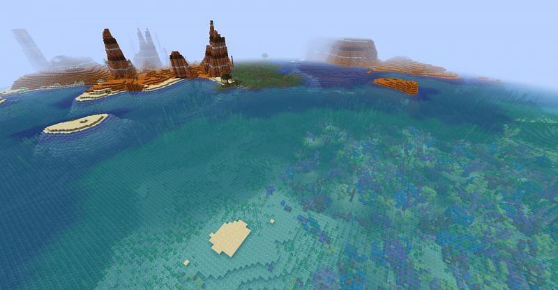 Seed: LASTHERE (Image via Minecraft)