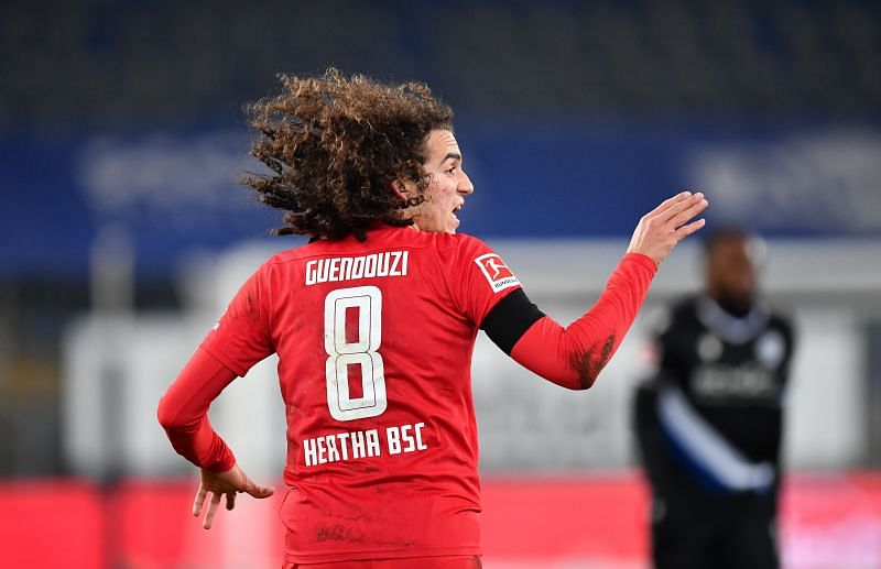 Marseille have the option to convert Matteo Guendouzi's loan deal to a permanent transfer.