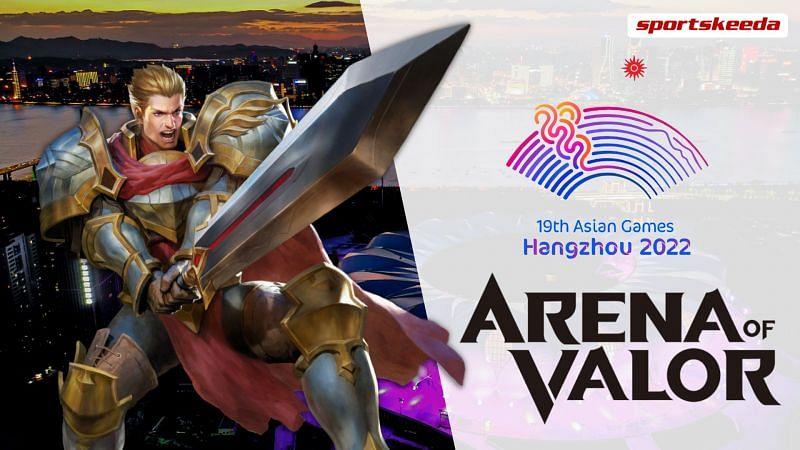 Arena of Valor has been included in the upcoming Asian Games 2022 at Hangzhou, Zhejiang, China (Image by Sportskeeda)