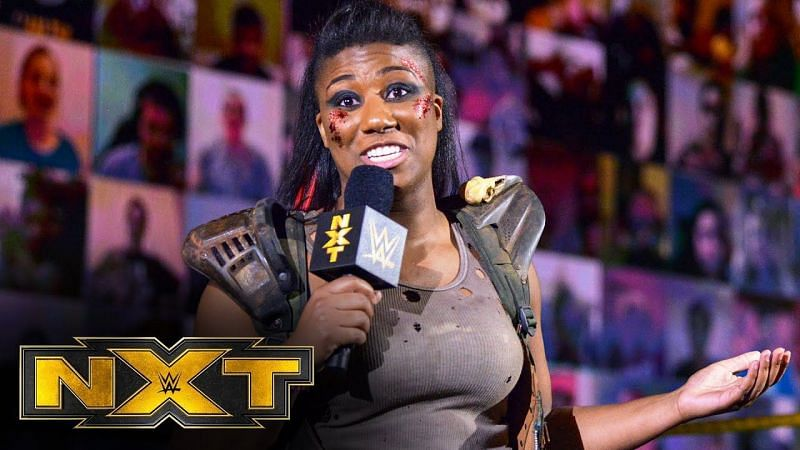 Ember Moon in WWE NXT