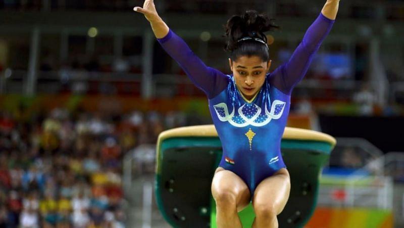 Dipa Karmakar (credit: Olympics.com)