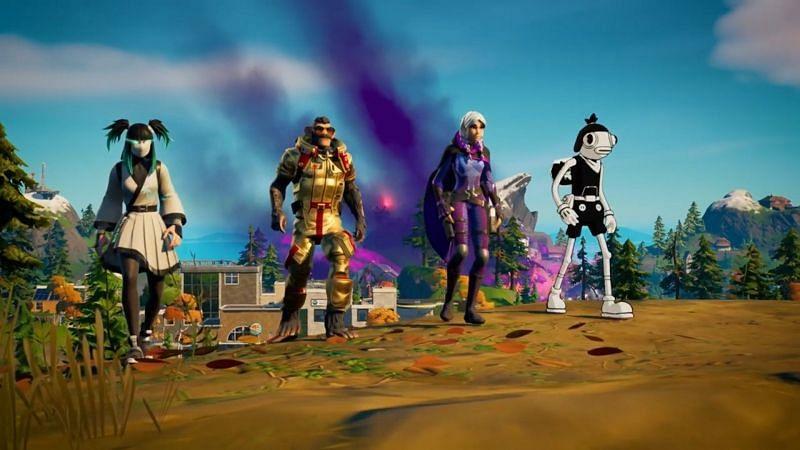Fortnite Chapter 2 Season 8 hidden map changes (Image via Epic Games)