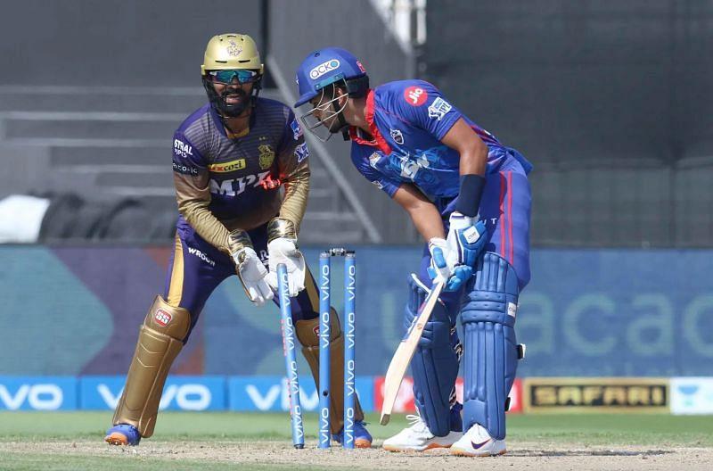 The Delhi Capitals struggled at the Sharjah pitch (Image: IPL).
