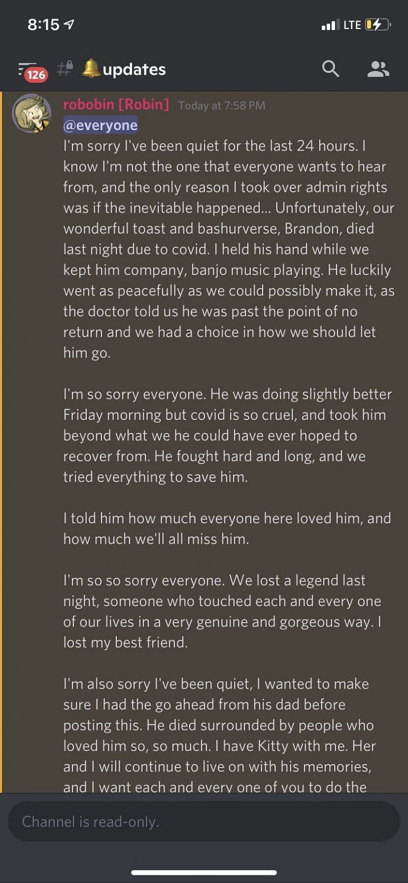 Bashurverse died at the age of 36 (Image via Discord)