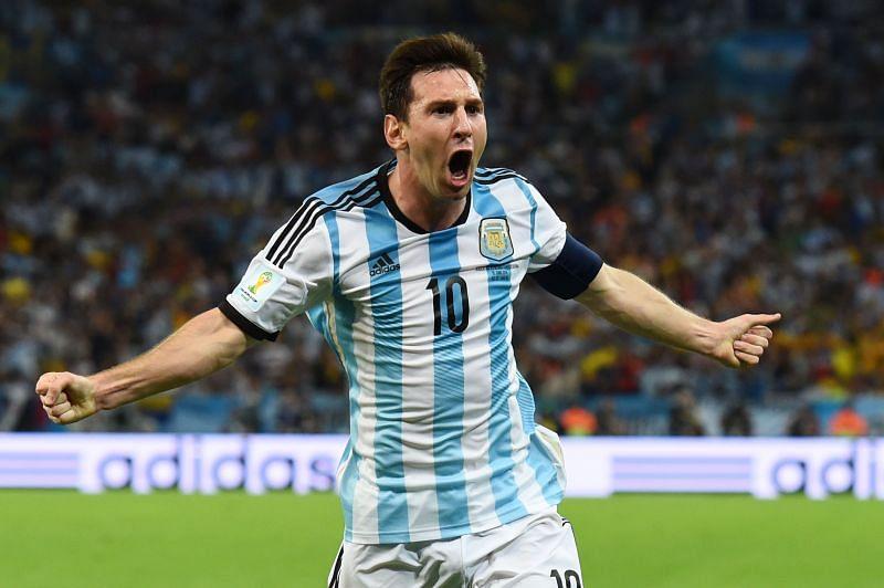 Argentina captain - Lionel Messi