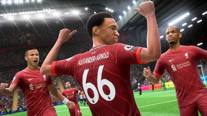 It will only be a week until FIFA 22 is released (Image via Electronic Arts)