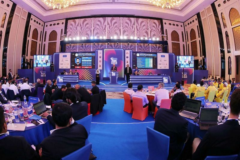 The IPL mega-auction is set to be held before the next season