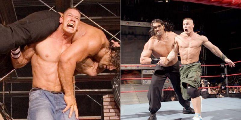 WWE One Night Stand में जॉन सीना और द ग्रेट खली के बीच मैच हुआ था