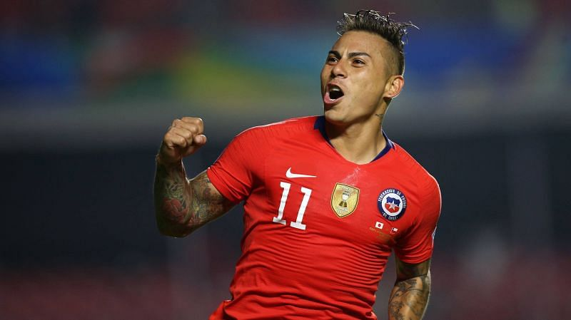 Four of Vargas' six goals came in the 7-0 rout of Mexico