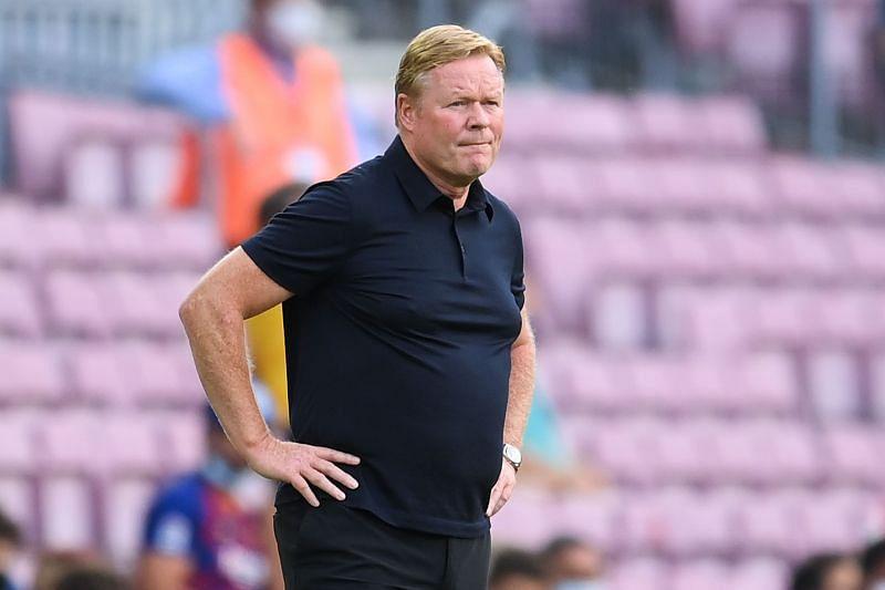 Barcelona could sack Ronald Koeman very soon.