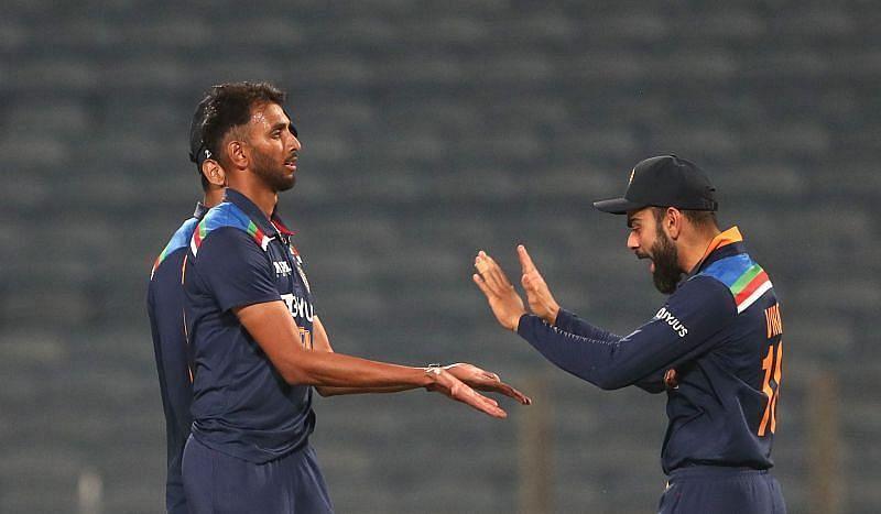 प्रसिद्ध कृष्णा को भारतीय टेस्ट टीम में शामिल किया गया है