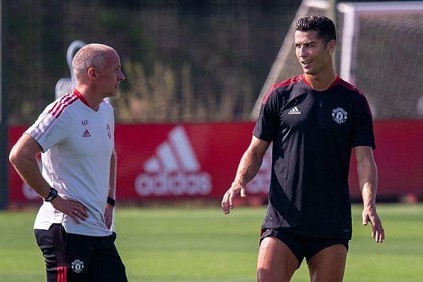 Cristiano Ronaldo is back in the Premier League!