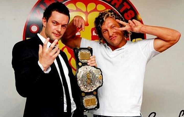 Finn Balor and Kenny Omega Share A History in New Japan