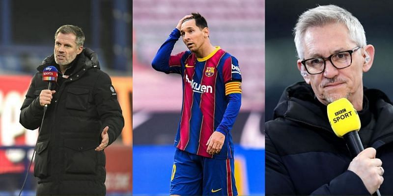 Carragher and Lineker waged war after Lionel Messi debate
