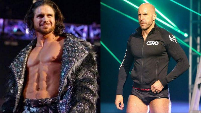 WWE सुपरस्टार्स जॉन मॉरिसन और सिजेरो
