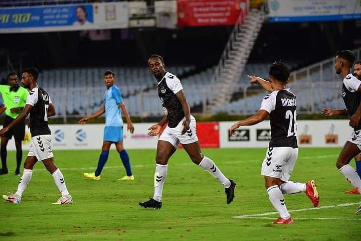 Mohammedan SC won 4-1 over Indian Air Force in the first game of 2021 Durand Cup. (Image: Durand Cup)