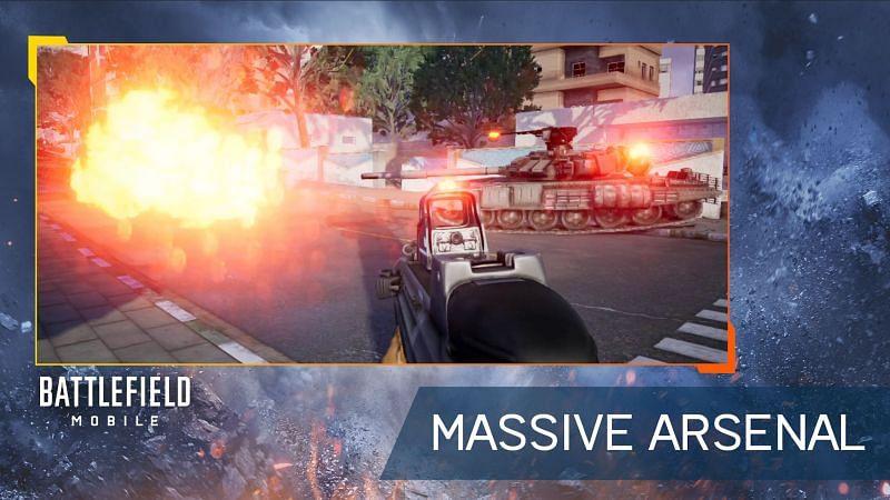 Battlefield Mobile (Google Play üzerinden görüntü)