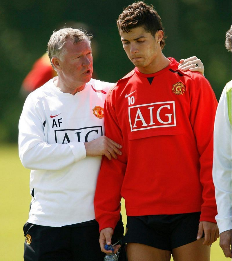 Sir Alex Ferguson played a crucial role in the development of Cristiano Ronaldo to be the beast he is today