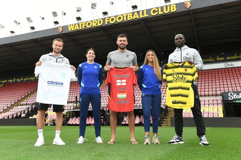 Indian club Watford partner with English team Watford [Image Credits: Watford]