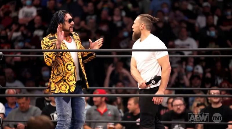 AEW Champion Kenny Omega and Bryan Danielson