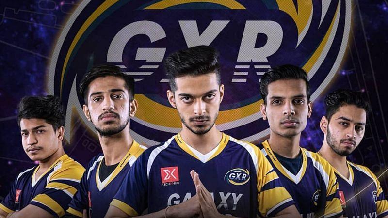 Galaxy Racer Esports India has benched three BGMI players (image via Galaxy Racer)
