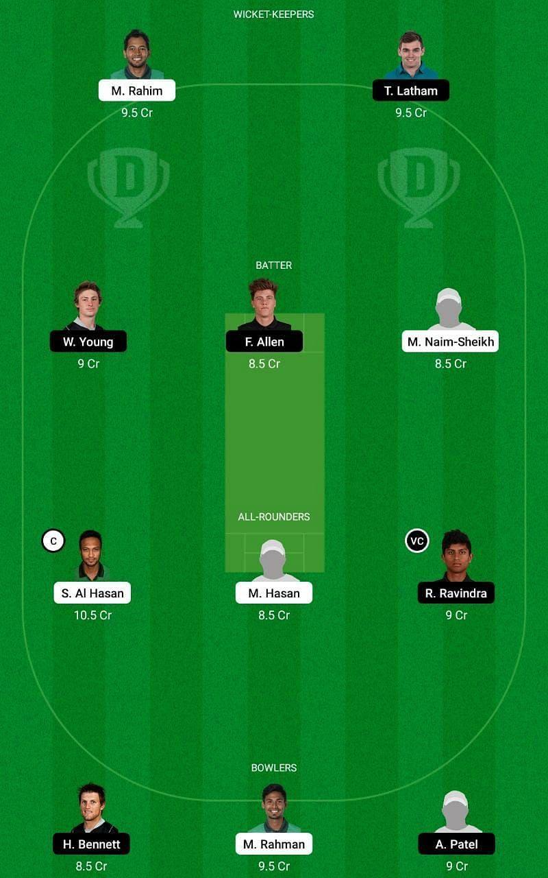 BAN vs NZ 3rd T20I Dream11 Fantasy Tip #1