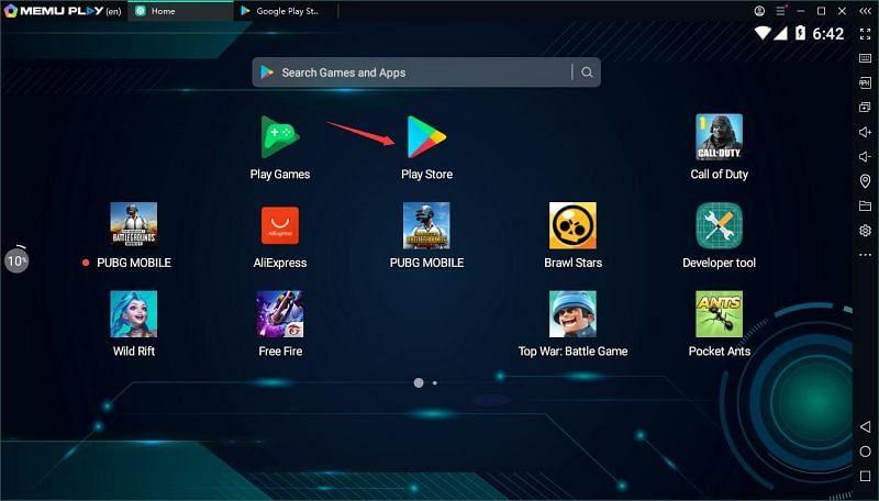 Games on MEmu Play (Image via MEmu)