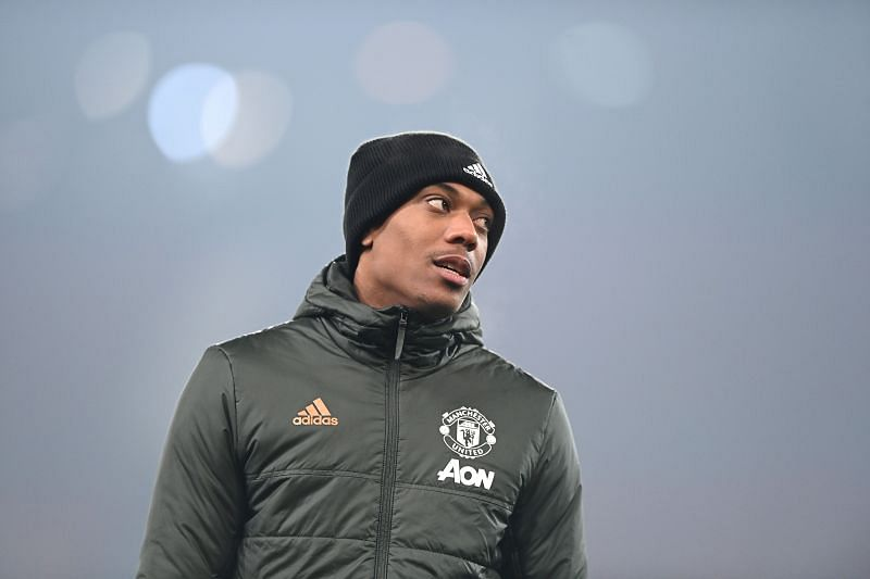 Anthony Martial was linked with a departure from Manchester United this summer