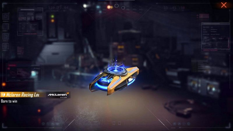 New McLaren Racing Loot Box can be obtained for free (Image via Free Fire)