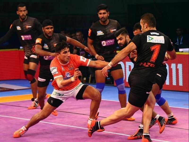Nitin Tomar was retained with the FBM card by Puneri Paltan for PKL Season 8 (Image - Pro Kabaddi)