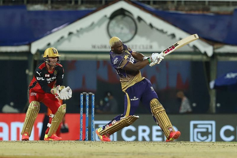 Andre Russell's strike rate against RCB is 215.11 (Image Courtesy: IPLT20.com)