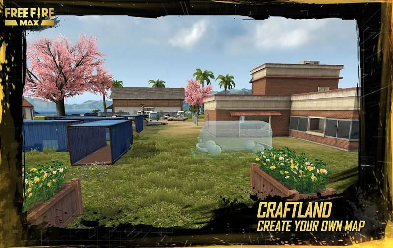 Craftland feature in Free Fire MAX