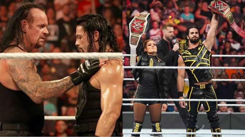 WWE Extreme Rules में कई बड़े सुपरस्टार्स टीम बनाकर मैच लड़ चुके हैं